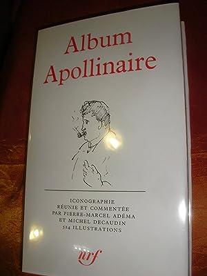 ALBUM APOLLINAIRE: ADEMA P.-M. - DECAUDIN M.]