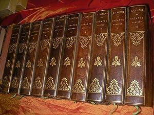THEATRE COMPLET d'EUGENE LABICHE (COMPLET DES 10 VOLUMES): LABICHE EUGENE