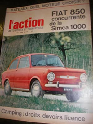L'ACTION AUTOMOBILE ET TOURISTIQUE N°45 MAI 1964: AUTOMOBILE] COLLECTIF