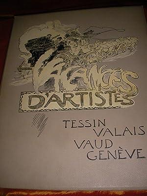 VACANCES D'ARTISTES- TESSIN VALAIS VAUD GENEVE: DANIEL BAUD-BOVY