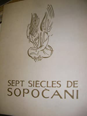 SEPT SIECLES DE SOPOCANI: PANIC-SUREP - SIMA