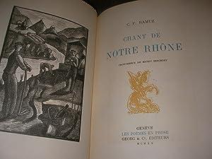 CHANT DE NOTRE RHONE: RAMUZ C.F.