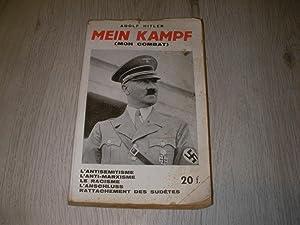 MEIN KAMPF (MON COMBAT)ACCOMPAGNES DE COMMENTAIRES- EXTRAITS: HITLER ADOLF