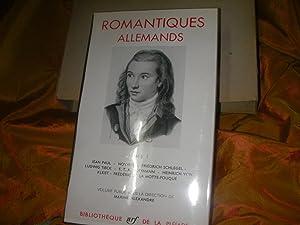 ROMANTIQUES ALLEMANDS (TOME 1): JEAN PAUL- NOVALIS-