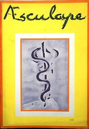 Aesculape : Numéro consacré à l'histoire du: AESCULAPE 1959 -