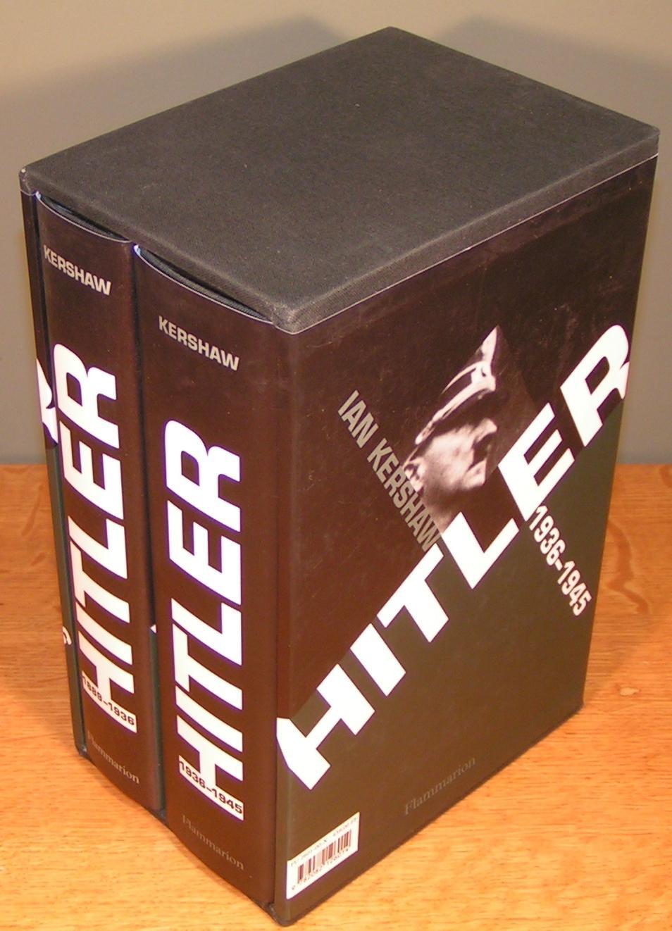 HITLER (2 volumes dans un coffret) , 1889-1936 : Hubris, et 1936-1945 : Némésis KERSHAW, Ian As New Hardcover