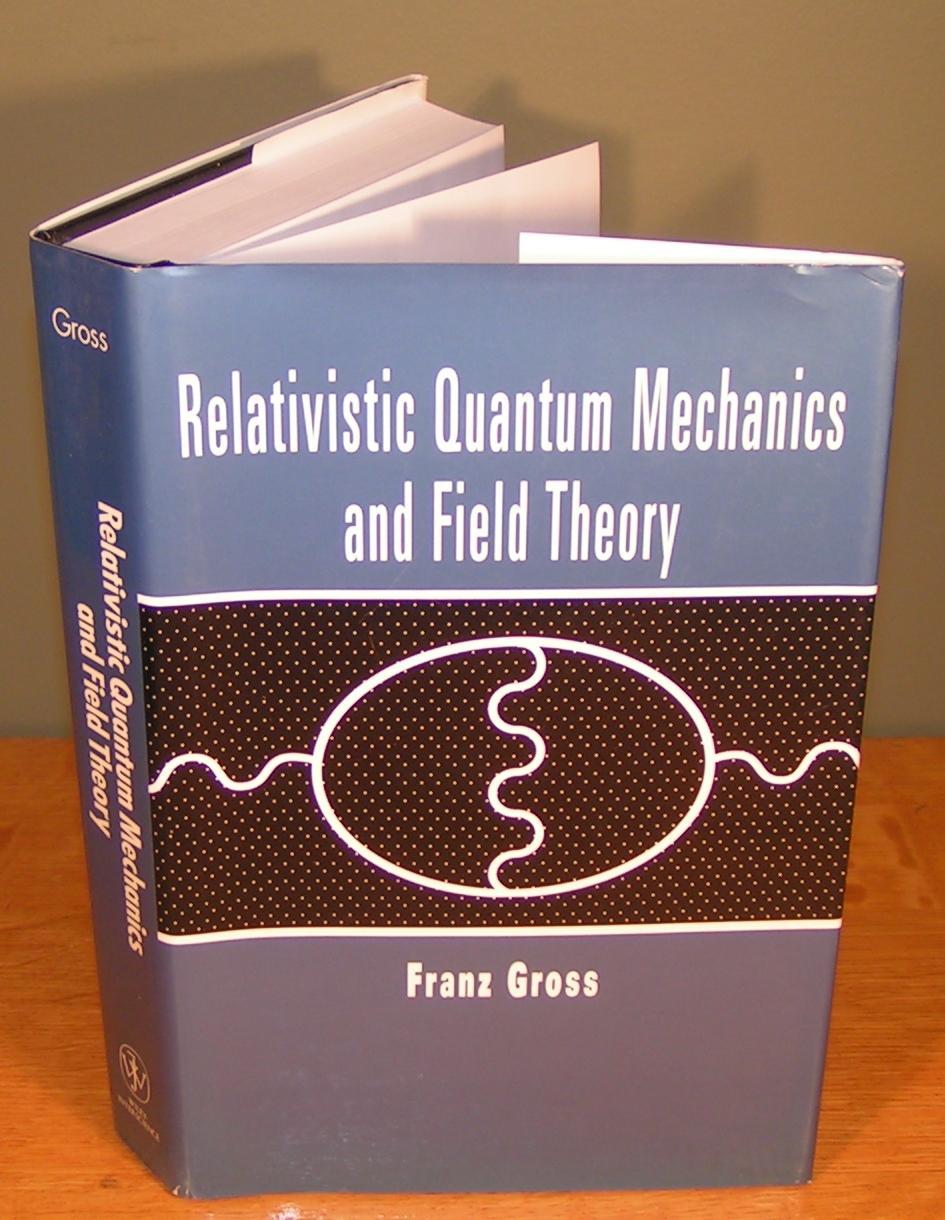 relativistic quantum mechanics book pdf