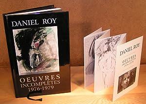 UVRES INCOMPLÈTES 1976-1979 (Signé et dédicacé): ROY, Daniel