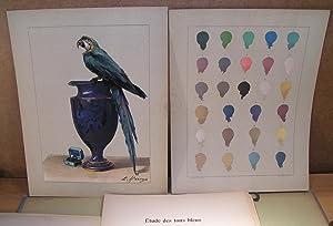 LE MÉLANGE DES COULEURS Enseigné par l¿exemple (premières études de peintures à l¿huile): HAREUX, E.
