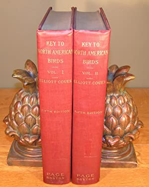 KEY TO NORTH AMERICAN BIRDS ¿ complete in 2 volumes (5th edition, 1927)