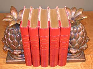 ¿UVRES DE SULLY PRUDHOMME , 5 volumes ; Poésie/ Épaves, Poésie 1866-1872, Poésie 1872-1878, Poési...