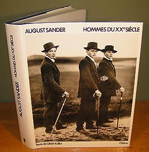 AUGUST SANDER HOMMES DU XXe SIÈCLE (portraits: KELLER, Ulrich (texte