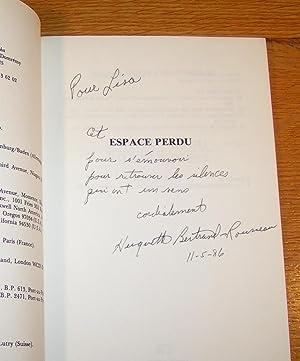 ESPACE PERDU, IMAGERIES (signé): BERTRAND-ROUSSEAU, Huguette