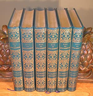 LA FRANCE FÉODALE (complet en 6 volumes reliés): DUC DE LEVIS MIREPOIX