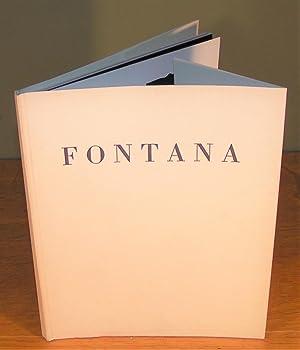 FONTANA (exposition à la Galerie Alexandre Jolas: DORFLES, Gillo (pour