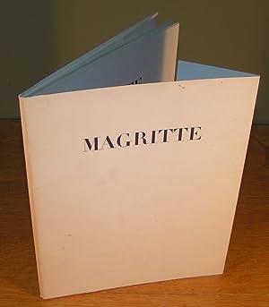 MAGRITTE, LE SENS PROPRE (catalogue d¿exposition, Novembre: MAGRITTE, René et