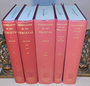 THE CONTINUATIONS OF THE OLD FRENCH PERCEVAL OF CHRETIEN DE TROYES (complete 5 volumes ; 1, 2, 3 ...