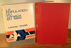 LA POPULATION DU CANADA EN 1663: TRUDEL, Marcel