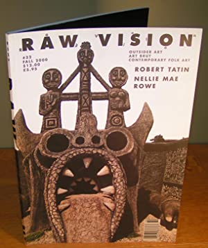 RAW VISION Journal / Magazine, no. 32, Fall 2000