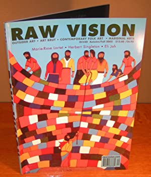RAW VISION Journal / Magazine, no. 40, Fall 2002