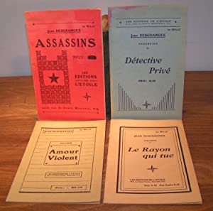 ASSASSINS (en 4 tomes ; Assassins, Détective Privé, Amour Violent et, Le Rayon qui tue)