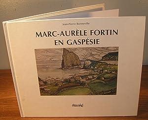 MARC-AURÈLE FORTIN EN GASPÉSIE: BONNEVILLE, Jean-Pierre