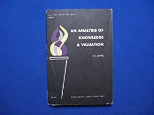 An Analysis of Knowledge & valuation
