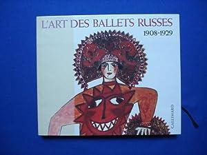 L ART DES BALLETS RUSSES A PARIS.: POJARSKAIA Militsa &