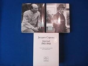 JOURNAL 1901-1915 et 1916-1948.Texte établi, présenté et: COPEAU JACQUES