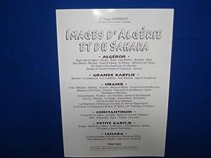 Images d'Algérie et du Sahara. Tome XXIII.: DUVOLLLET Roger P.
