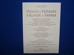 VISAGES & PAYSAGES D'ALGERIE & SAHARA Algérois: P. Roger DUVOLLET