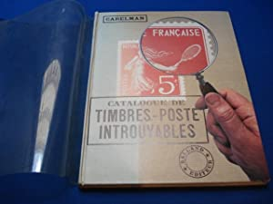 Catalogue de Timbres-Poste Introuvables. E.O