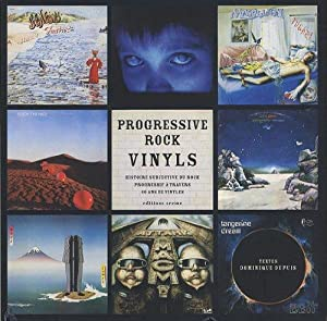 Progressive rocks vinyls