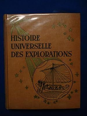 Histoire universelle des explorations tome II la: Amsler Jean