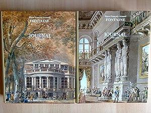 Journal 1799-1853 (2volumes): FONTAINE (Pierre François
