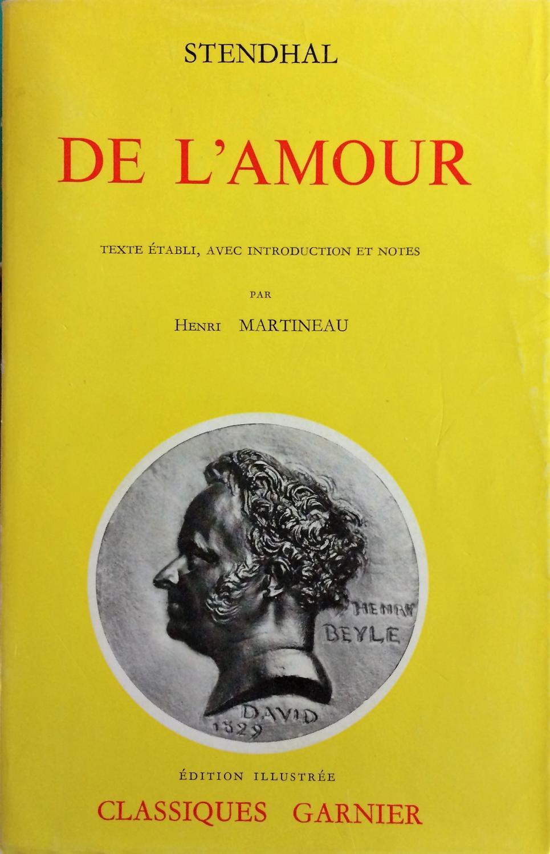 De Lamour De Stendhal Henri Beyle Garnier Frères Broché