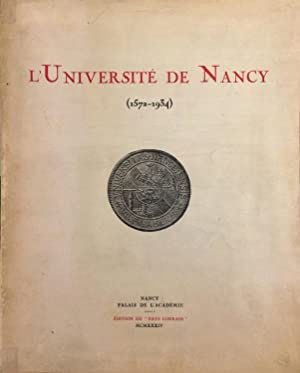 L'Université de Nancy (1572-1934)