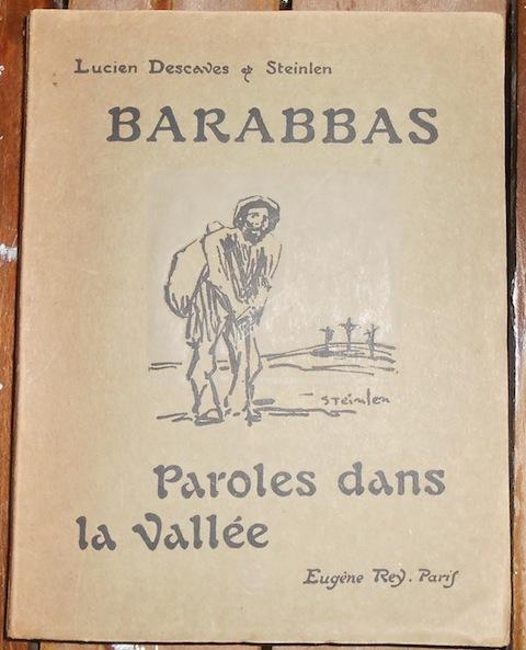 Barabbas Paroles dans la Vallée Lucien Descaves