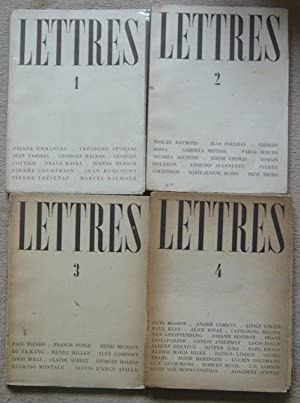 Lettres - 1945: Pierre Courthion, Théodore