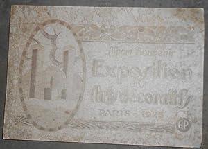 Album Souvenir Exposition des Arts décoratifs Paris