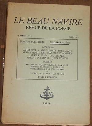 Le Beau Navire n°8: Jean de Bosschère,