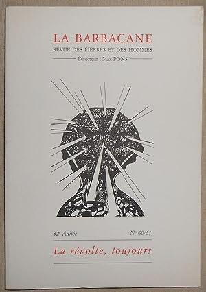La Barbacane n°60/61 revue des pierres et: Philippe Soupault, Nathalie