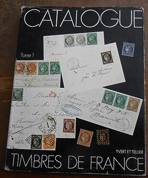 Catalogue de timbres de France, 2 tomes