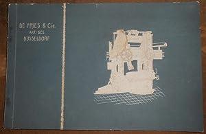 Catalogue de machines-outils De Fries & Cie
