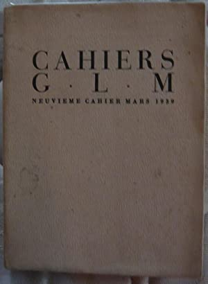 Cahiers GLM: Lewis Caroll, André