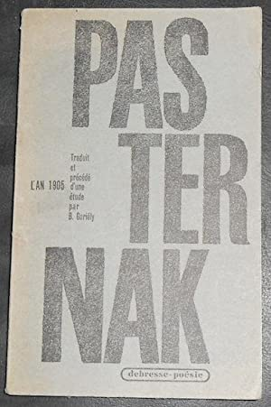 L'An 1905: Boris Pasternak