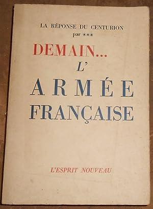 Demain L'Armée Française – La Réponse du: anonyme (Hervé de