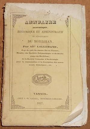 Annuaire Statistique, Historique et Administratif du Département: Alfred Lallemand