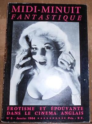 Midi-Minuit Fantastique n°8 – Erotisme et Epouvante: Bernard Einsenschitz, Jean-Claude