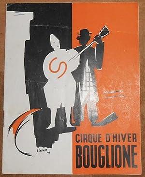 Programme du Cirque d'Hiver Bouglione saison 1949-50